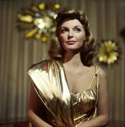 Julie London gold lame 1967