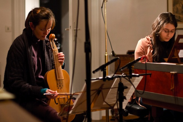 Recording With Viol small